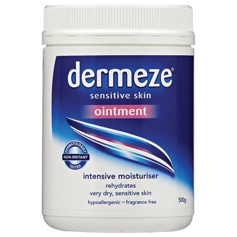tattoo cream chemist warehouse buy dermeze ointment 500g online at chemist warehouse 174