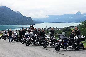 Motorrad Tour Zum Wolfgangsee by Alpen Und Seen Selbstfahrer Motorradtour Harley Davidson