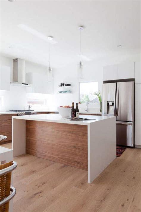 Walnut Kitchen Designs las 30 cocinas blancas modernas que la van a petar el 2017