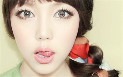 cute aegyo hairstyles aegyo clothes cute eye lashes image 686001 on favim com