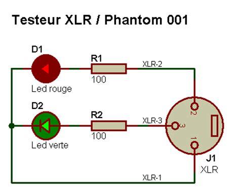 alimentazione phantom electronique realisations testeur xlr phantom 001