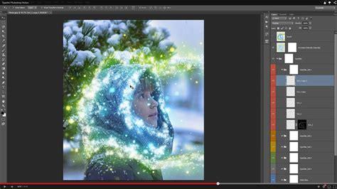 graphic design tutorial photoshop cs3 sparkle photoshop action graphicriver
