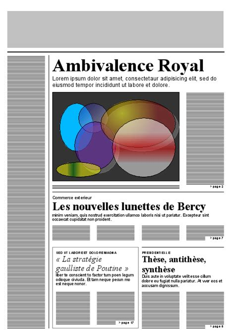 newspaper layout css css template layout module