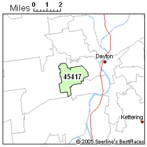 zip code map dayton ohio best place to live in dayton zip 45417 ohio