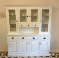 lilyfield white painted kitchen hutch