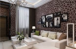 Living Room Paper Wall Paper Design For Living Room 3d House