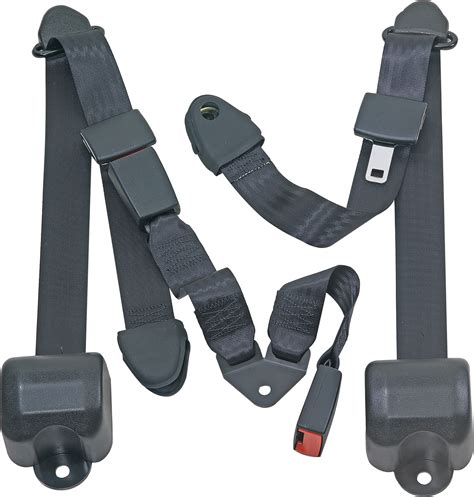 Jeep Tj Rear Seat Belts Seatbelt Solutions Rear Push Button 3 Point Retractable
