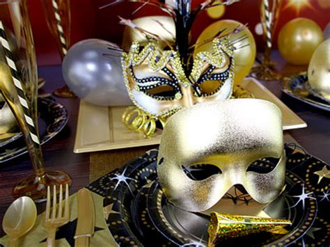 new year table decorations uk masquerade ideas delights