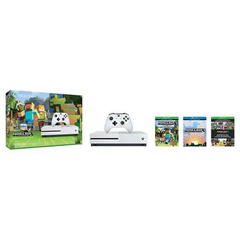 Xbox One Minecraft microsoft xbox one s minecraft favorites bundle zq9 00043 b h