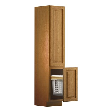shop kraftmaid linen cabinet common 18 in actual 18 in