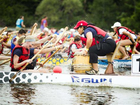 spirits dragon boat dragon boat festival fills mooney s bay with team spirit