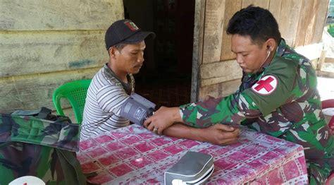 Dokter Layanan Aborsi Aceh Di Aceh Singkil Satgas Tmmd Buka Posko Pengobatan Gratis