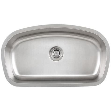 ticor s115 undermount 16 stainless single bowl
