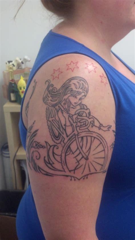 chicago cycling tattoo accidentally jewish