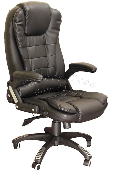 office chair recline build in massage function exectuve recline extrapadded