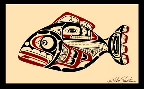 tatouage polynesien polynesian tattoo haida fish
