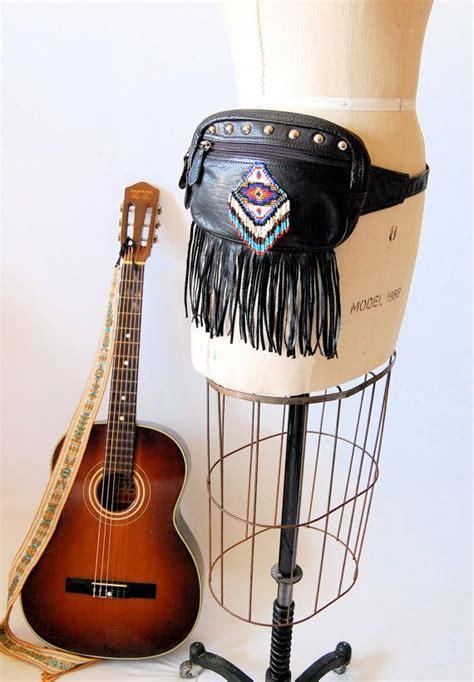 Fashion Pack Boho vintage pack navajo fringed leather studded boho