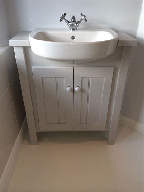built in bathroom sink units pavilion grey vanity unit with built in sink this colour