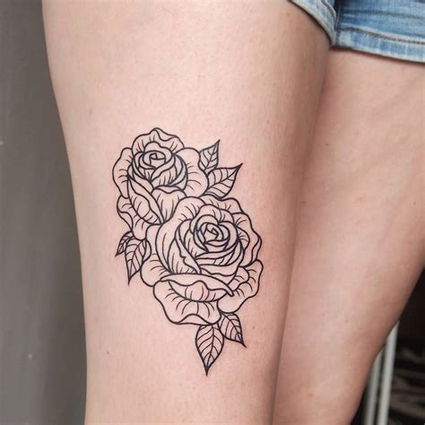 rose thigh tattoo designs 75 best tattoos for and to ink lava360