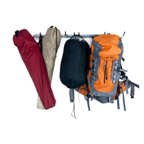 backpack rack for home monkey bars cing gear rack the home depot canada
