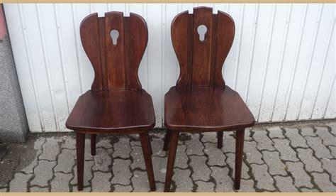 sedie in castagno 3 sedie in castagno
