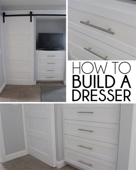 built in closet chest of drawers best 25 built in dresser ideas on closet