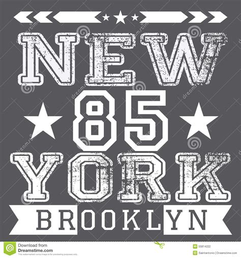 typography nyc new york city retro vintage typography poster t shirt