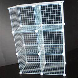 Wire Mesh Shelving Grid Wire Modular Shelving And Storage Cubes Wire