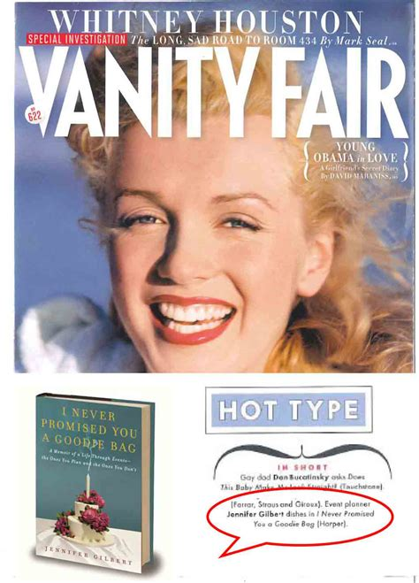 Vanity Fair Articles by I Never Promised You A Goodie Bag