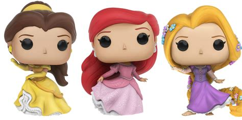 Disney Girlset Hello funko is releasing new disney princess pop figures and take all our money