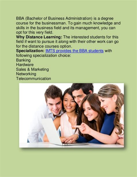One Year Mba In India Distance Education by Bba Distance Education Bba In Distance Learning Bba