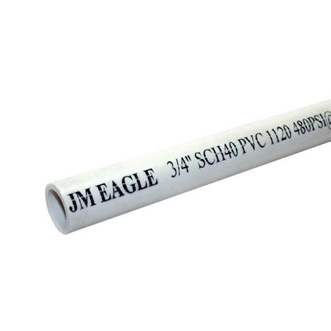 jm eagle 3 4 in x 10 ft 480 psi schedule 40 pvc plain