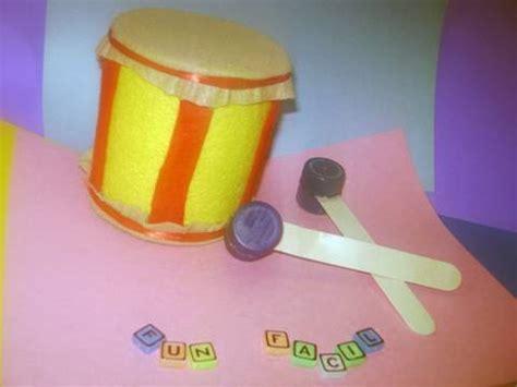como hacer un tambor con material reciclable como hacer un tambor de juguete con materiales reciclados