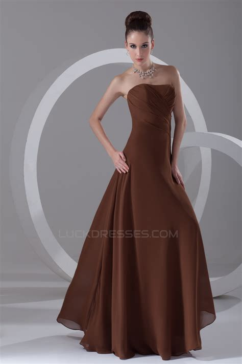 Sleeveless A Line Chiffon Dress a line sleeveless chiffon bridesmaid dresses 02010140