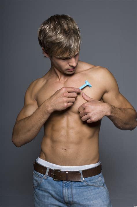 shaving guys bodies do you shave your chest huffpost