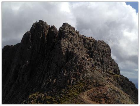 Crib Goch Pinnacles by Walk Report Snowdon Via Crib Goch Walkhighlands