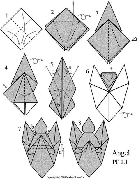 origami angel printable 302 best free origami images on pinterest diy origami
