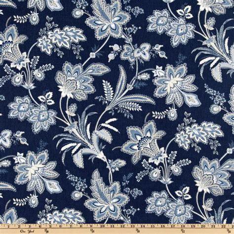 waverly indigo curtains waverly barano indigo discount designer fabric fabric com