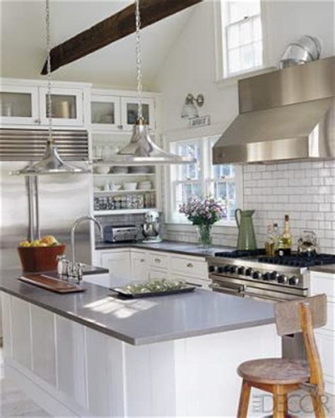 Grey Kitchen Countertops by Grey Counters Cottage Kitchen