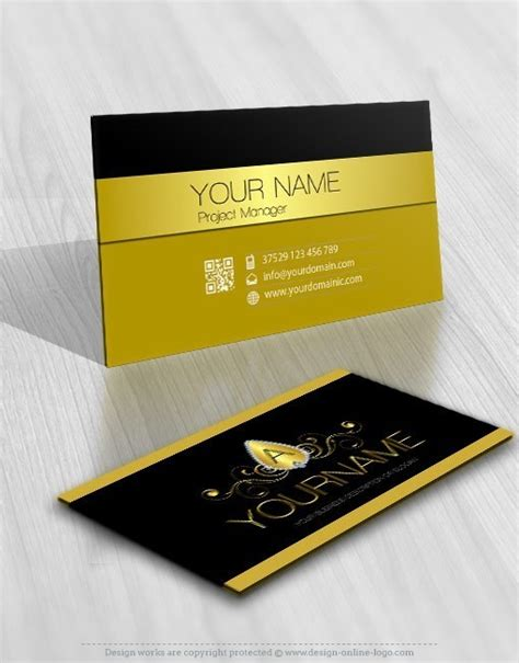 design a logo and business card exclusive design luxury jewelry logo free business card