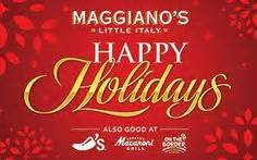 Maggianos Gift Cards - tis the season on pinterest 64 pins