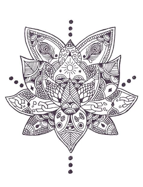 mandala tattoo represents today lotus flowers are often used to symbolize and