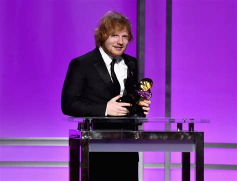 song of the year ed sheeran won song of the year j 14