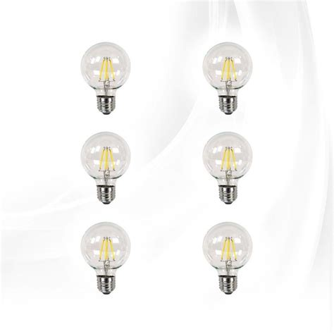 impressions vanity co clear led globe bulbs dimmable