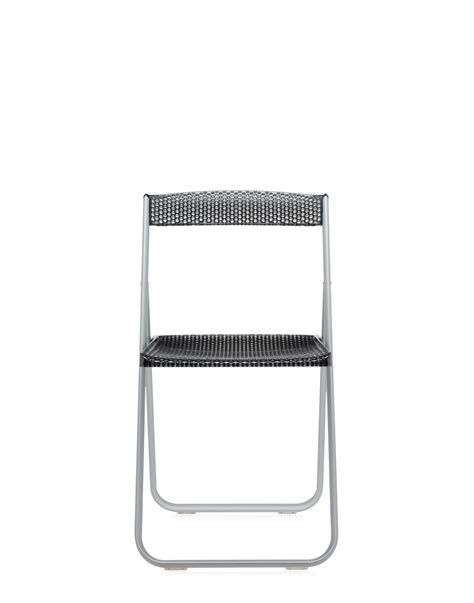 sedie pieghevoli kartell kartell sedia pieghevole honey comb fume trasparente