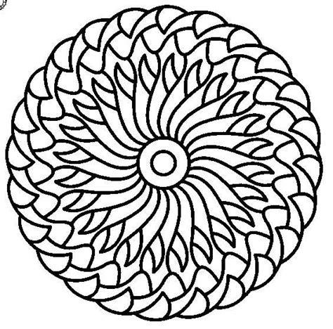 Free Printable Mandala Cool Mandala Coloring Pages