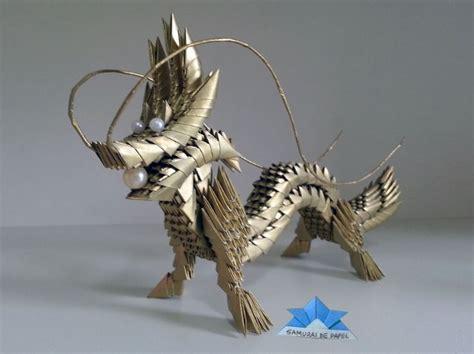 3d Origami Dragonfly - origami 3d drag 227 o samurai de papel