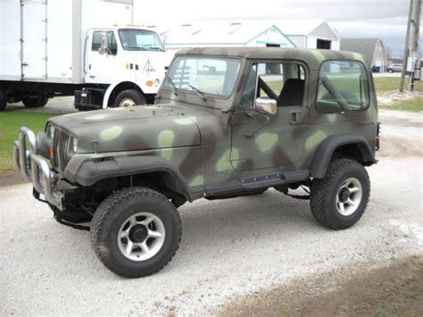 camo jeep yj 1988 jeep wrangler camo
