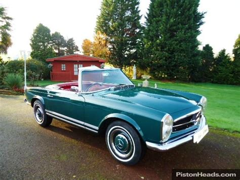classic mercedes 230sl sports pagoda for sale