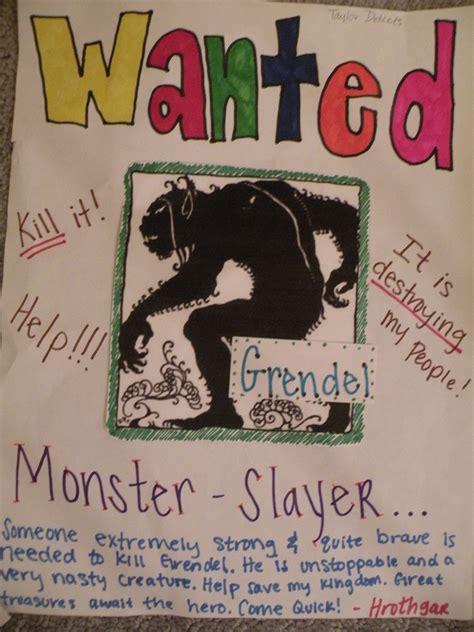 Monster Job Resume by Grendel Ap English 12 Semester 2